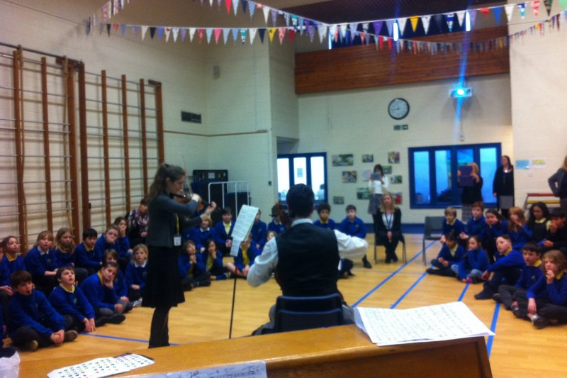 Workshops at Hotspur Primary School